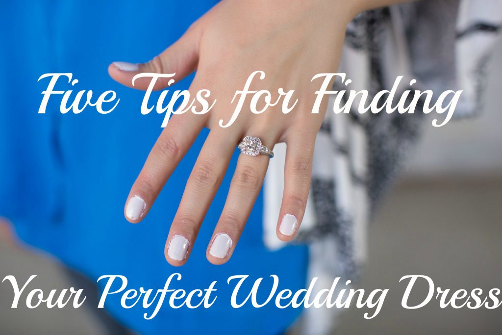 five tips for finding your perfect wedding dress
