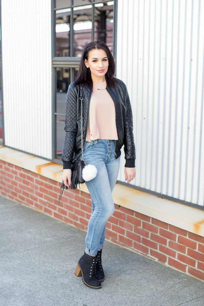 How to Wear Leather in the Spring