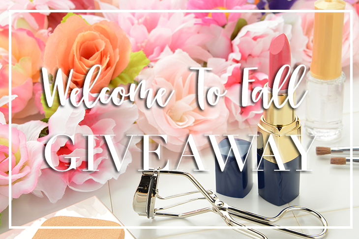 fall makeup giveaway, sephora giveaway, target giveaway, beauty giveaway