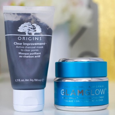 face mask, origins clear improvements, glam glow mask