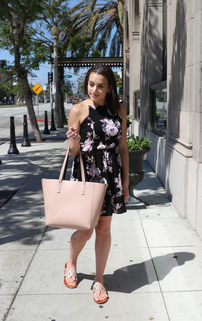 A Floral Dress for Under $30