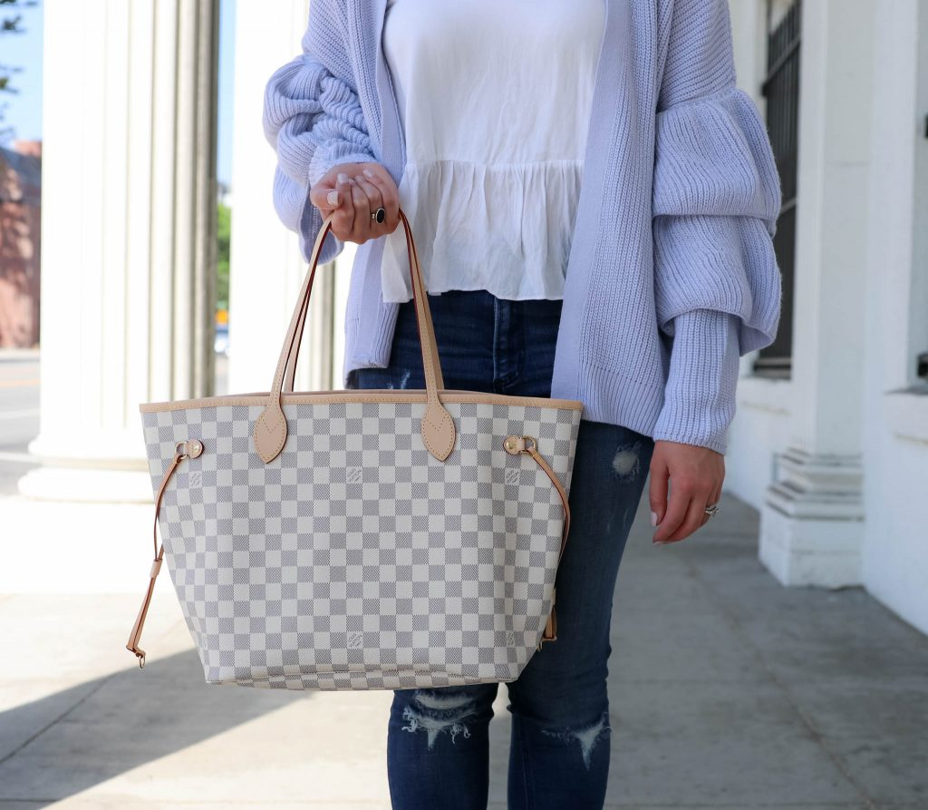 Layered Ruffle Sleeve Cardigan