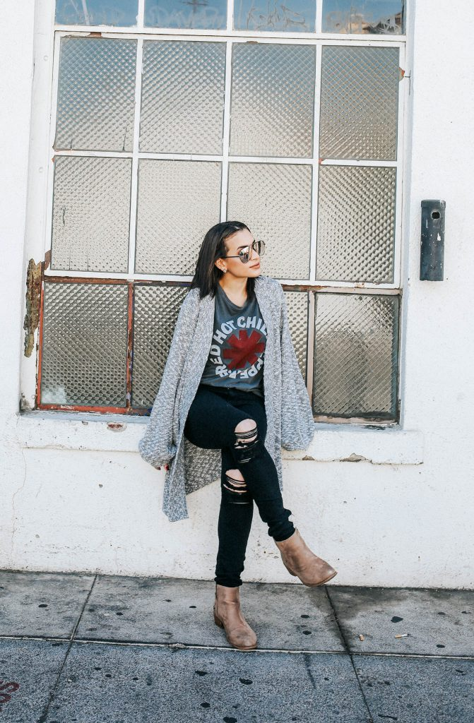 fall oversized cardigan